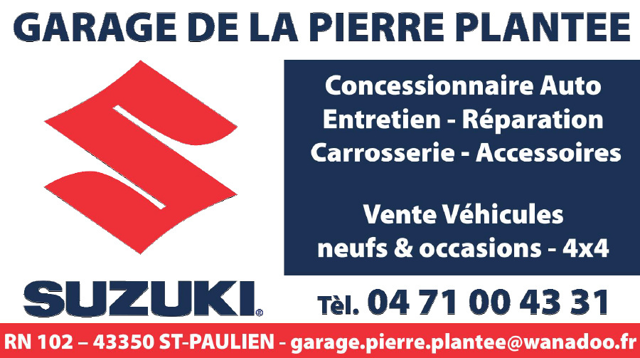 Garage La Pierre Plantee 43